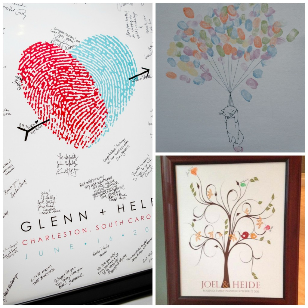 Thumbprint Collage
