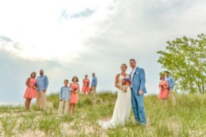 bridal party dune
