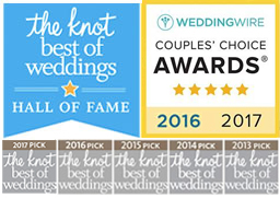 The Knot Best Of Weddings Hall of Fame - Top Pick since 2013