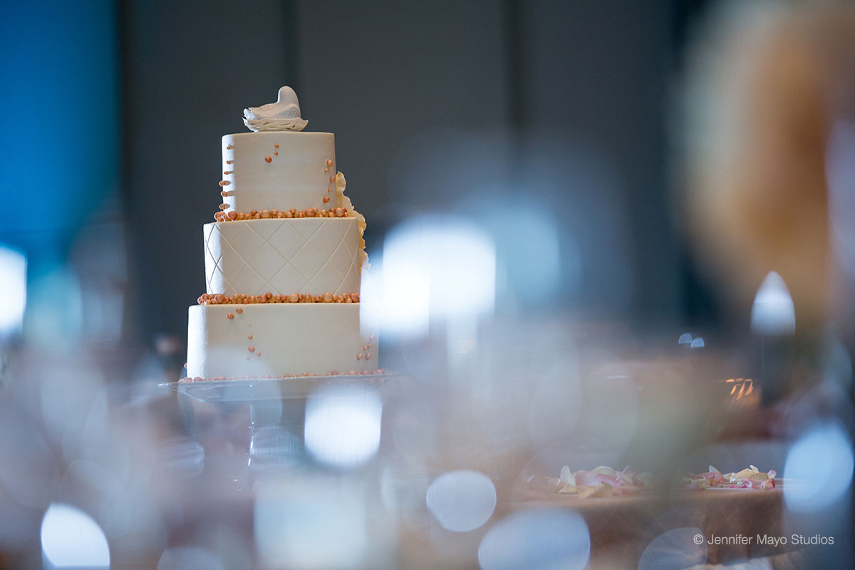 Wedding cakes and catering at Shadowland on Silver Beach in St. Joseph, MI
