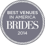 One of Bride Magazine's Best Venues in America 2014