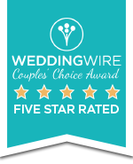 WeddingWire Couples' Choice Award Winner badge